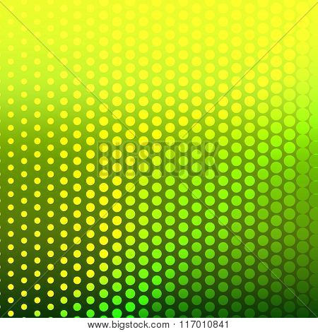 Abstract Background With Halftone Effect.