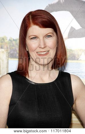 Kate Flannery at the Los Angeles Premiere of