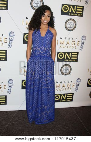 LOS ANGELES - FEB 4:  Genneya Walton at the Non-Televised 47TH NAACP Image Awards at the Pasadena Conference Center on February 4, 2016 in Pasadena, CA