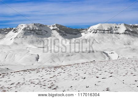 Apennine Winter Landscape