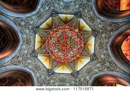 Shaikh zayed mosque in Abu Dhabi, UAE