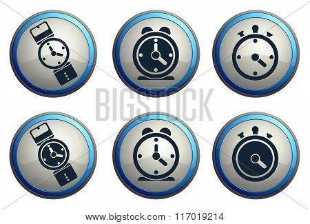 vector clocks icons