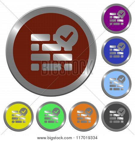 Color Active Firewall Buttons