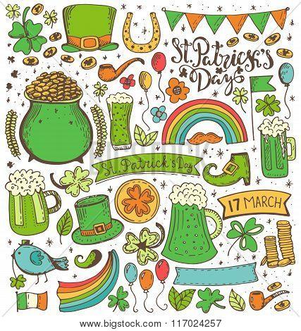 Set of St. Patricks Day