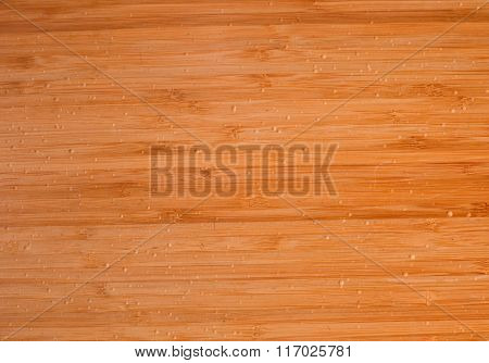 Closed Up Of Horizontal Texture Of The Wooden Background