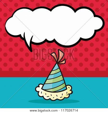 Birthday Hat Doodle