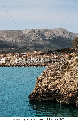 City of Baška, the island of Krk