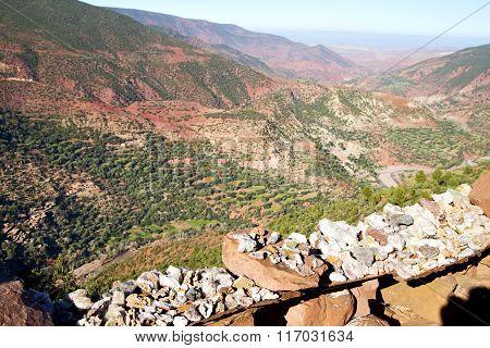 The    Dades Valley   Atlas  Africa   Nobody