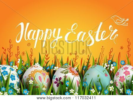 Easter Folk Card
