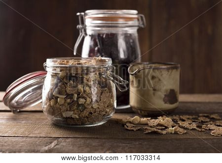 Wholegrain Muesli Breakfast