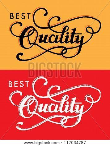 Best Quality.