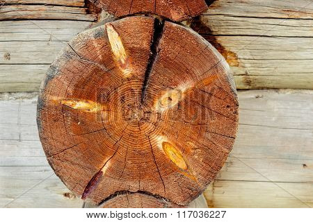 end face the log