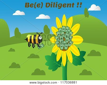 Be(e) Diligent