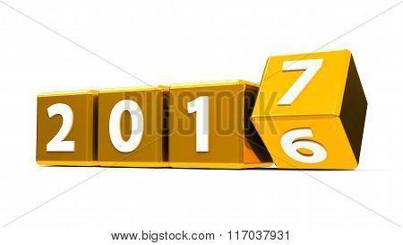 Gold Cubes 2017