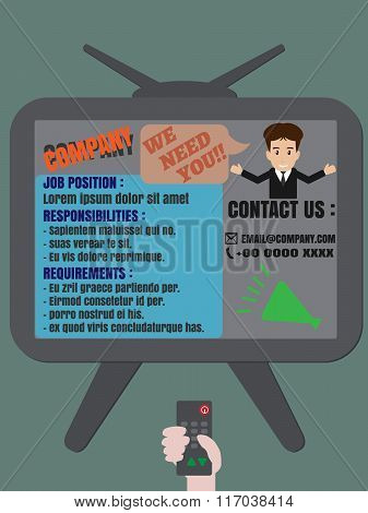 Job Finder Tv Advertisement