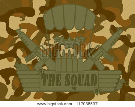 Military Logo The Squad