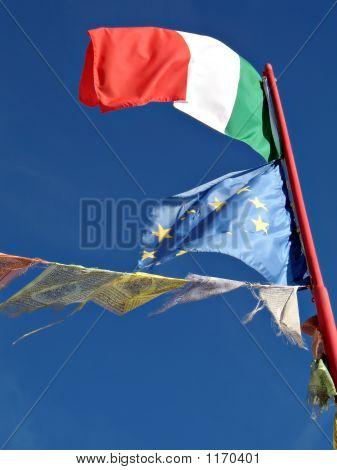 High Mountain Flags