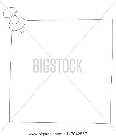 Vector illustration sticker