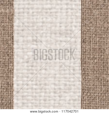 Textile Frame, Fabric Decoration, Brown Canvas, Gunny Material, Country Background