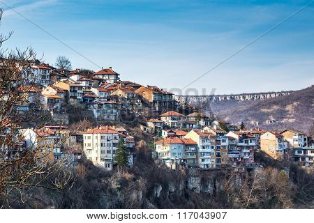 View of Veliko Tarnovo, medieval town in Bulgaria