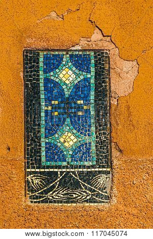 Colorful Mosaic On The Street Of Murano, Italy 1