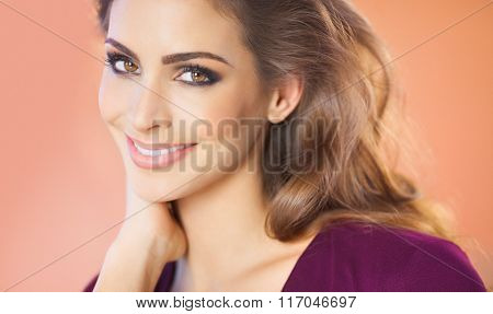 Beautiful Smiling Girl