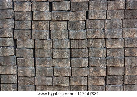 The Bricks Walkway Used In The Construction Of The Corridor Floor.