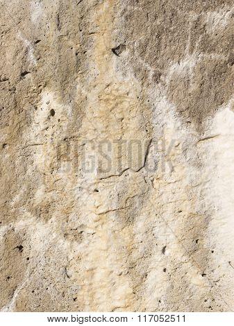 Wall Made Of Natural Stone