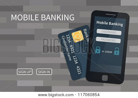 Mobile banking, online payments