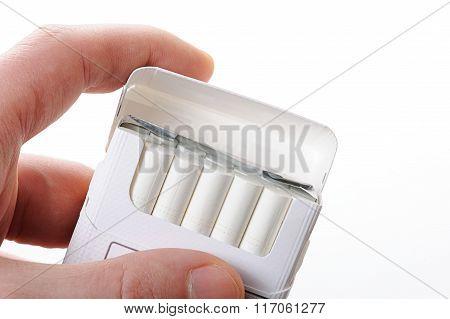 Cigarette Pack Open