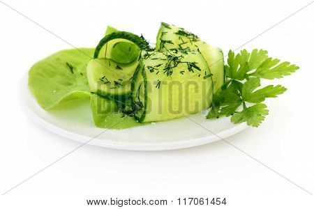 Salad From Cucumbers