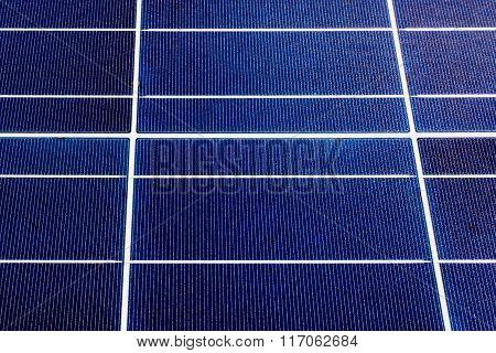 texture of a solar panel closeup
