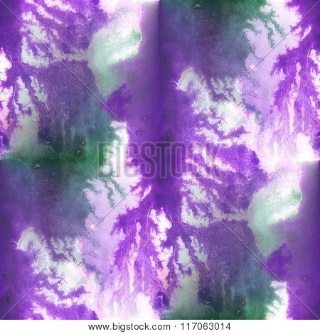 seamless purple green watercolor background  abstract texture art blue pattern, water paper wallpape