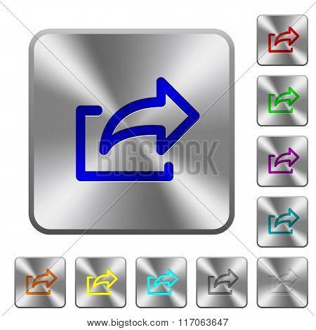 Steel Export Buttons