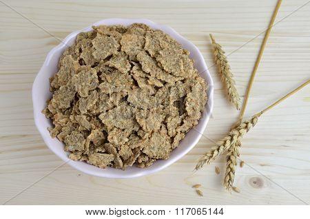 Muesli And Wheat Ears