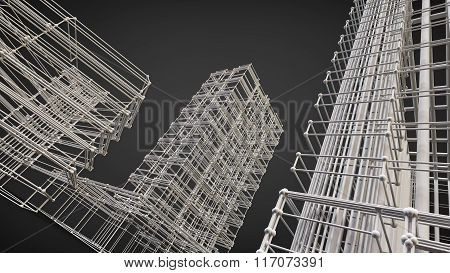 reinforcement buildings construction structural absctract