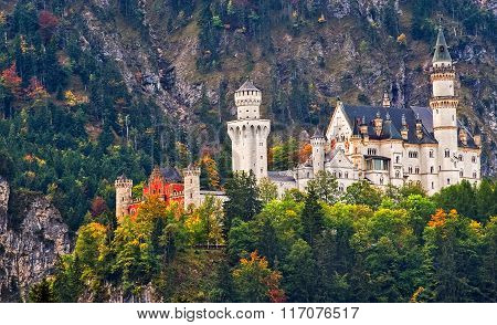 Romantic Castle Neuschwanstein, Germany