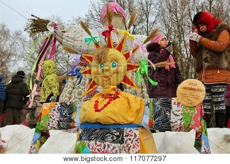 Doll Maslyonushka Made By Children