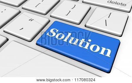 Solution It Business Keyboard Button
