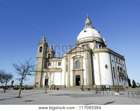 Sanctuary of Sameiro in Braga, north of Portugal
