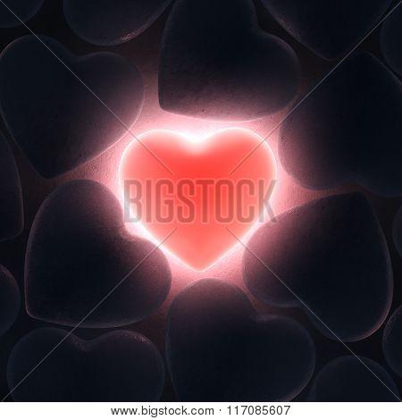 Beautiful Glowing Heart