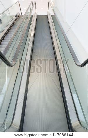 Escalator Looking Up
