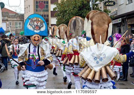 Carnival In Verin Spain