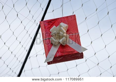Hung Gift Boxes As Street Decoration 9