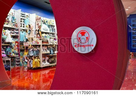 Indianapolis - Circa February 2016: Disney Store Retail Mall Location I