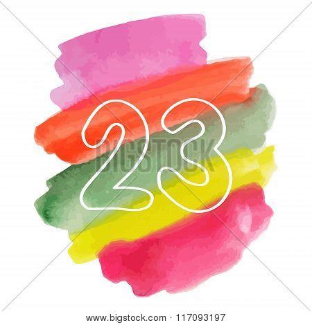 23 Watercolor Drawing