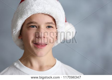 Portrait of cute boy, close up