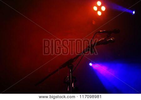 Prepared concert stage