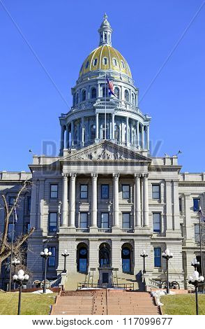 Colorado State Capitol Building, home of the General Assembly, Denver.