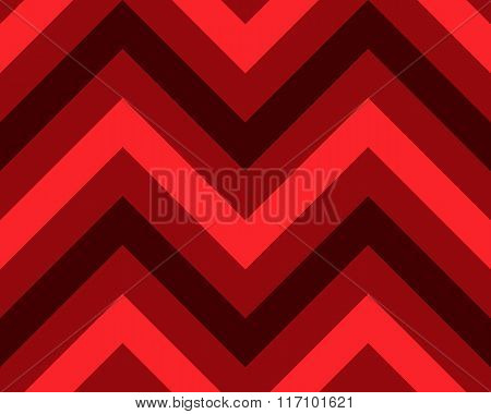 Seamless geometric strip pattern. Stripy texture. Zig-zag line background. Diagonal strips. Red, bla